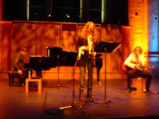 Patti Smith, Philip Glass, Lenny Kaye