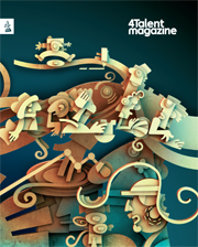 cover of 4Talent magazine
