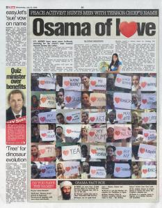 Osama Loves in the Currant Bun