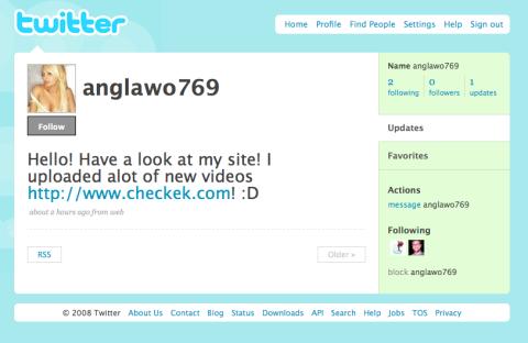 Twitter Stalker