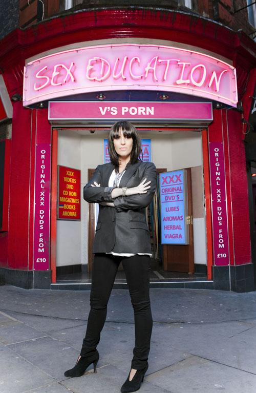 C4 sex education show versus pornography