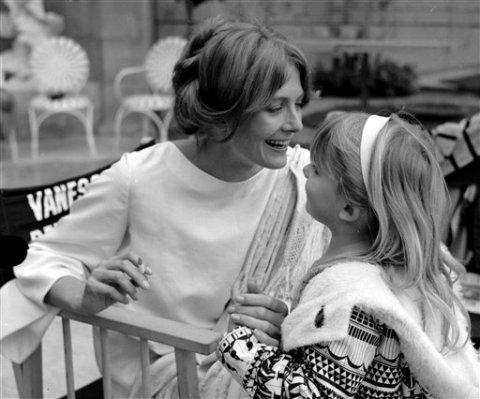 Natasha Richardson and her mother Vanessa Redgrave