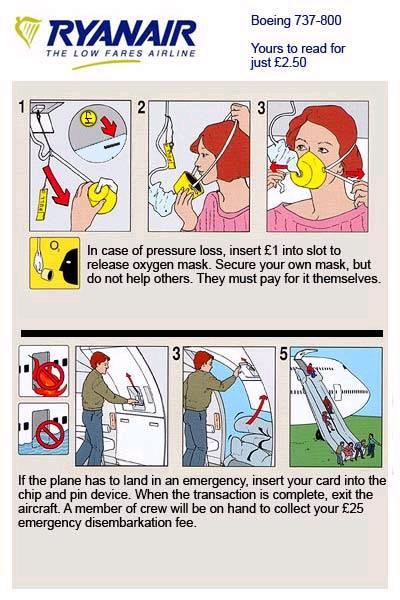 Ryanair Passenger Memo