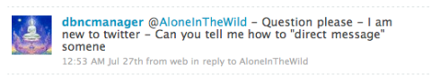Alone in the Wild Twitter screenshot 5