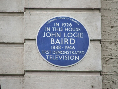 John Logie Baird plaque