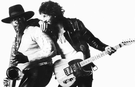bruce springsteen and clarence clements