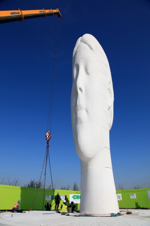 by Jaume Plensa