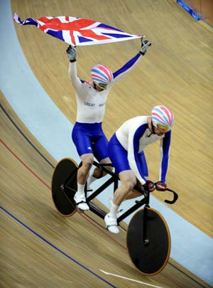 British Paralympic cycling