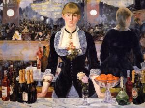 Un bar aux Folies Bergère