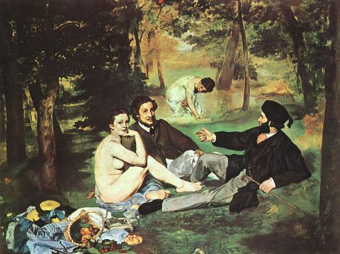 Manet Picnic on the grass