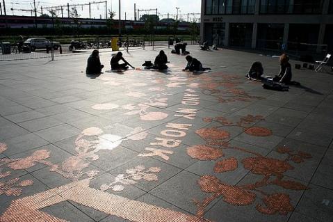 Stefan Sagmeister installation 250,000 coins