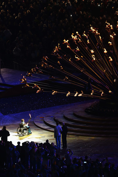 Maragaret Maughan at London 2012 Paralympics Opening Ceremony