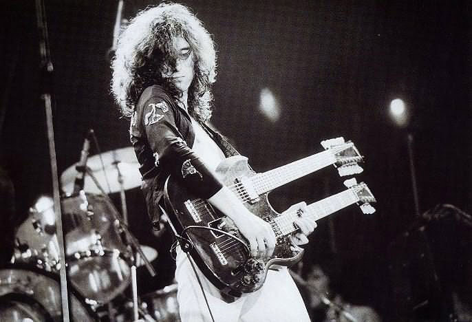 jimmy page - mind bending notes