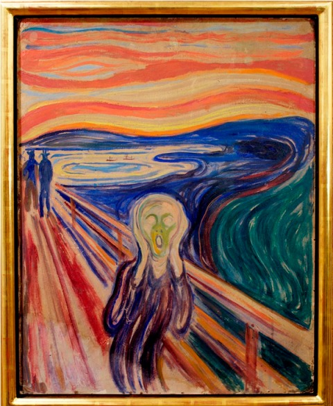 One of the four versions made by Munch between 1893 and 1910