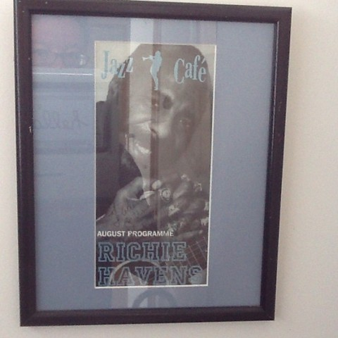 Richie Havens on the Wall of Fame