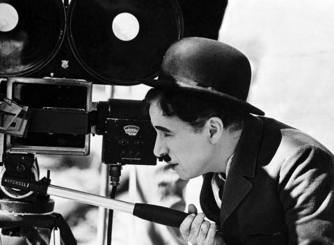 charlie chaplin filming