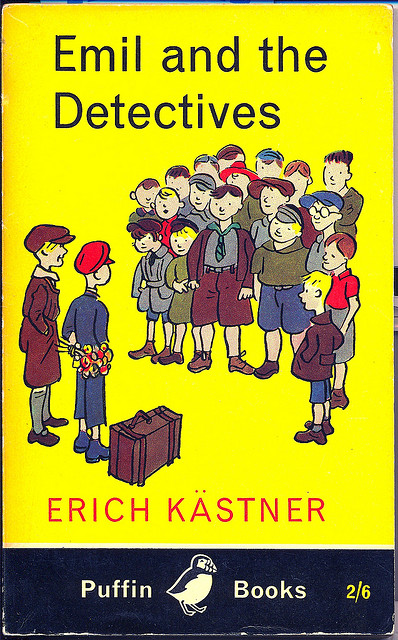 Emil and the detectives Erich Kastner book cover uk