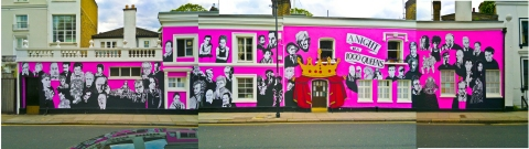 Chelsea Arts Club (aka CAC) in more colourful times