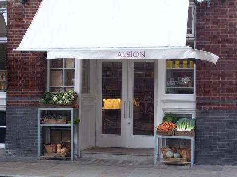 Albion cafe shoreditch