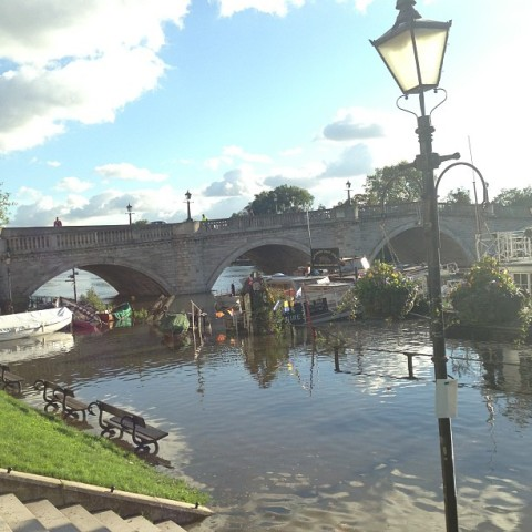 The Thames at Richmond Bridge