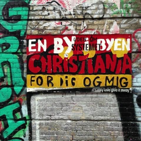 christiania copenhagen hippy quarter