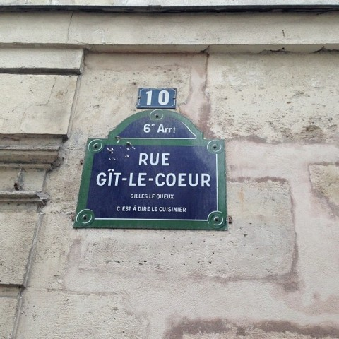 The Beat Hotel, rue Git-le-Coeur, Paris 6