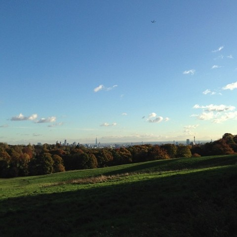 london seen from kenwood