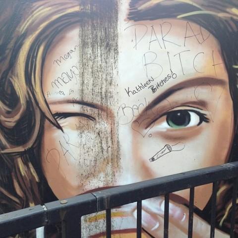 gospel oak mural graffiti