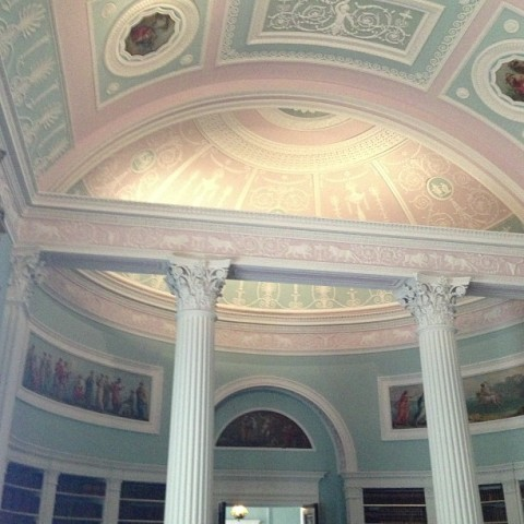 kenwood house adam library restored