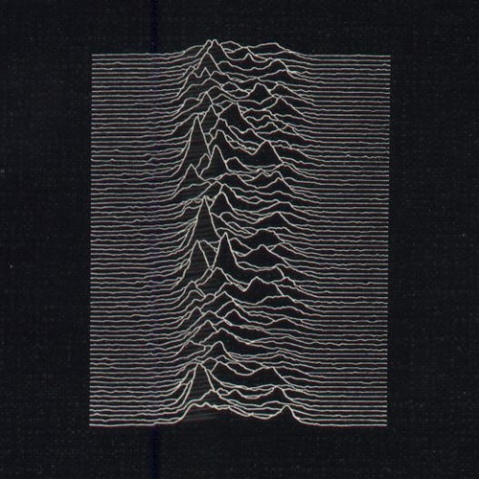 record cover Joy Division Unknown Pleasures Peter Saville