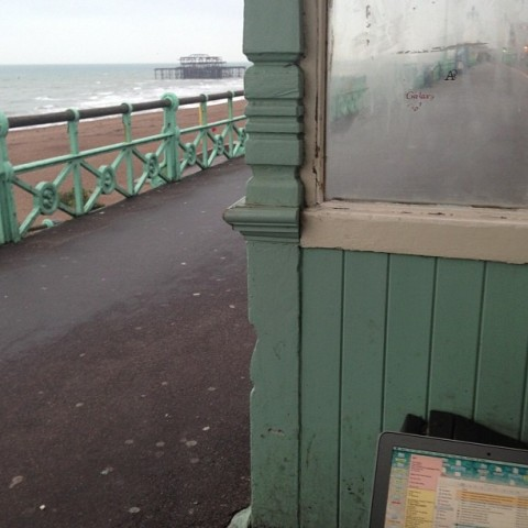 Brighton sea front England