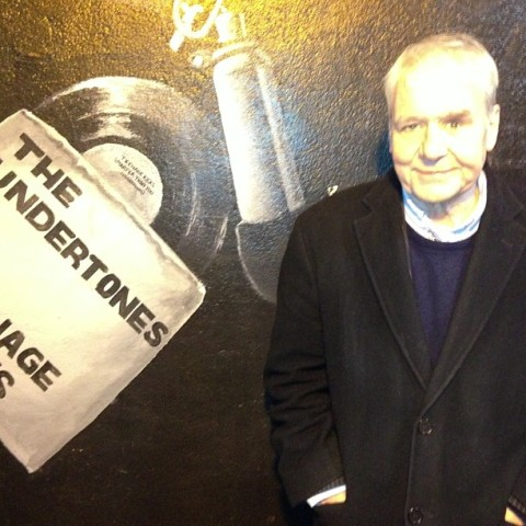 Terri Hooley and Teenage Kicks mural Belfast