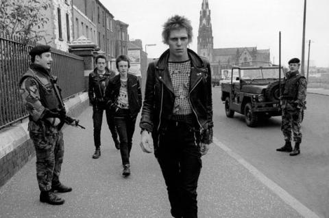 The Clash in Northern Ireland