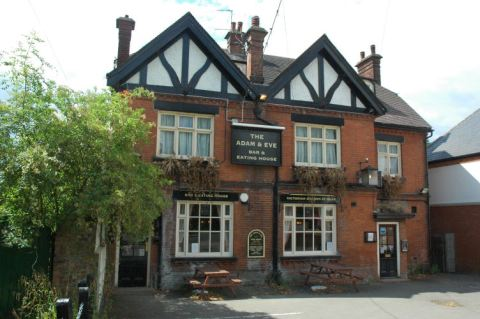 Adam And Eve pub Mill Hill London NW7