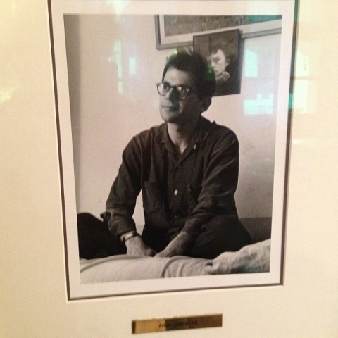 Ginsberg in the Beat Hotel with rimbaud