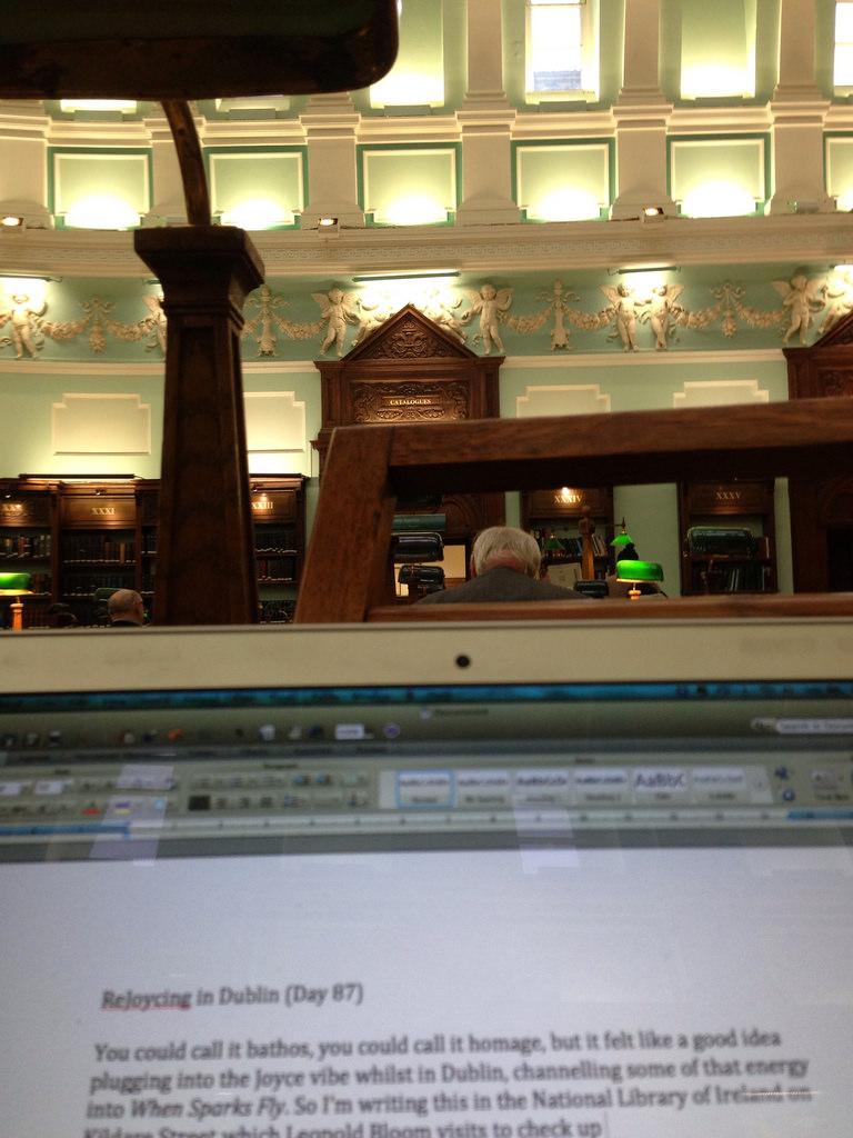 National Library of Ireland Dublin Reading Room