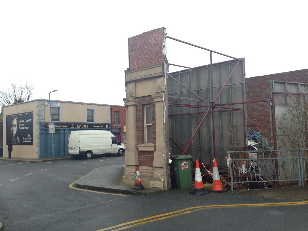 Fair City film set at RTE Donnybrook