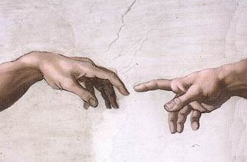 The hand of Adam