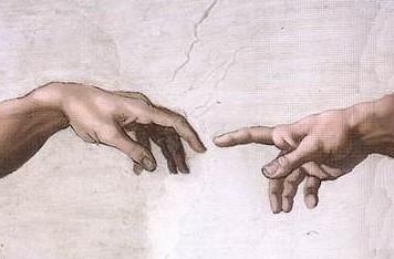 The hand of Adam