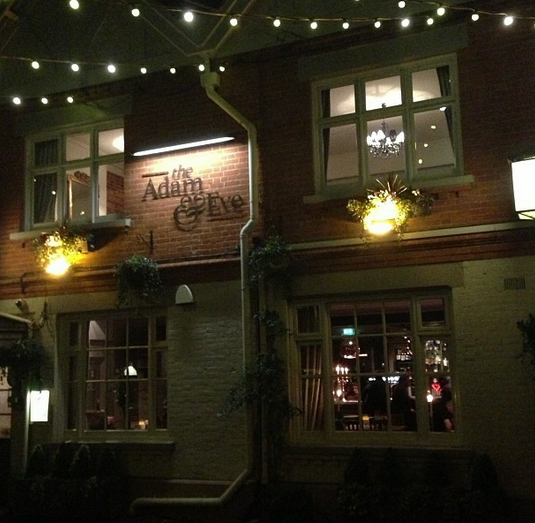 Adam & Eve pub mill hill london nw7