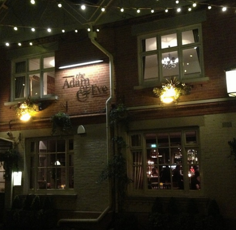 Adam & Eve pub mill hill london nw7
