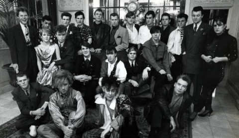 Creative Gangs: the Blitz Club generation {photo copyright of & courtesy of Herbie Knott}