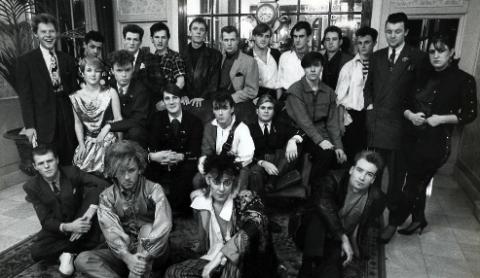 Creative Gangs: the Blitz Club generation {photo copyright of & courtesy of Herbie Knott}