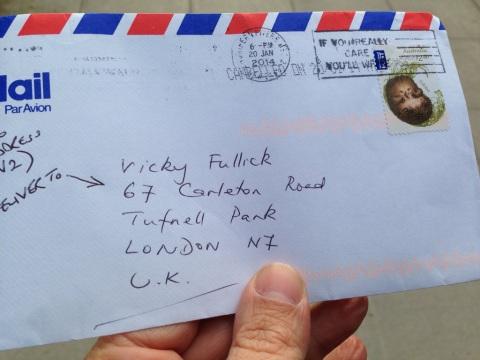 letter from Australia
