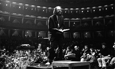 allen ginsberg at albert hall