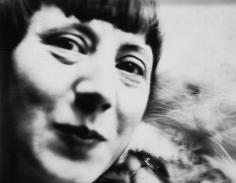 Hannah Höch self-portrait, c.1926