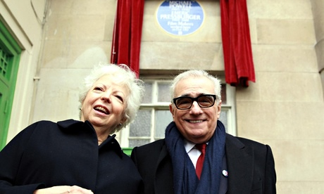 English Heritage blue plaque for Michael Powell and Emeric Pressburger
