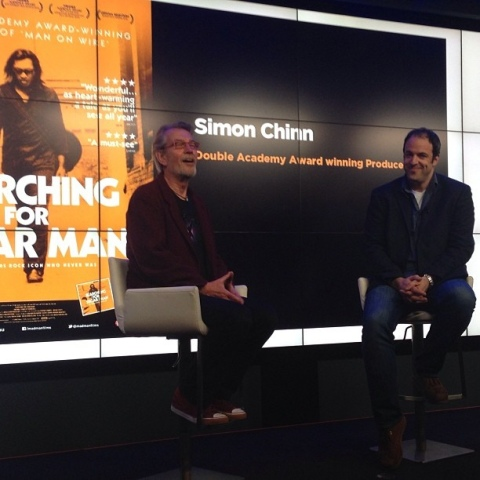 Simon Chinn interviewed by Dick Fontaine at Google HQ London