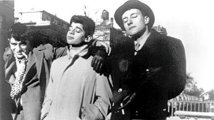 Kerouac, Ginsberg, Burroughs (1944)