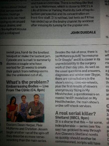 Sunday Times 13.iv.14